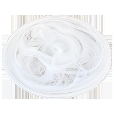 白の陰影皿